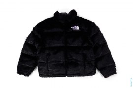 Faux Fur Nuptse Jacket by Supreme x The North Face