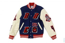 Space Cadet Leather Varsity Jacket by BBC/Ice Cream