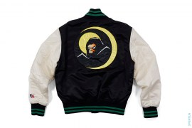 Bapeman Varsity Jacket by A Bathing Ape