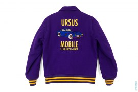 Ursus Mobile Club Wool Varsity Jacket by A Bathing Ape